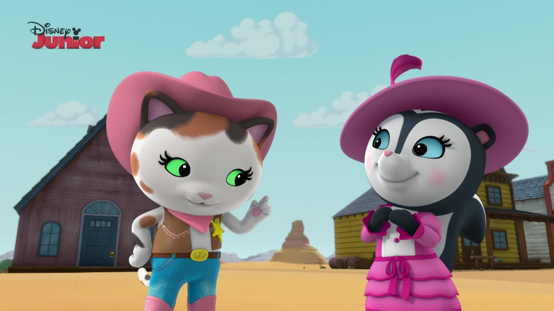 Toby the Cowsitter | Sheriff Callie's Wild West | Disney ...