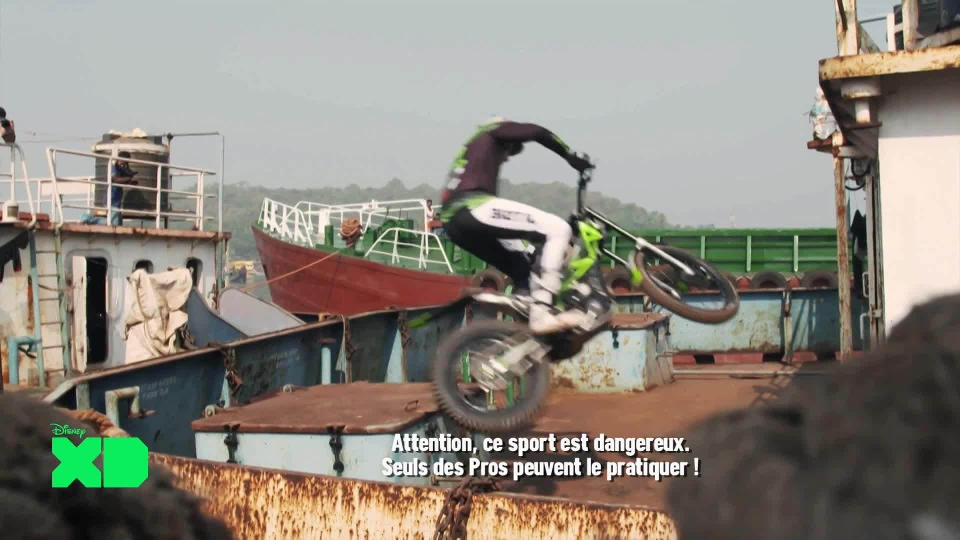 Disney XD Sport News - Inde : Moto Trial / Autriche : Aviation