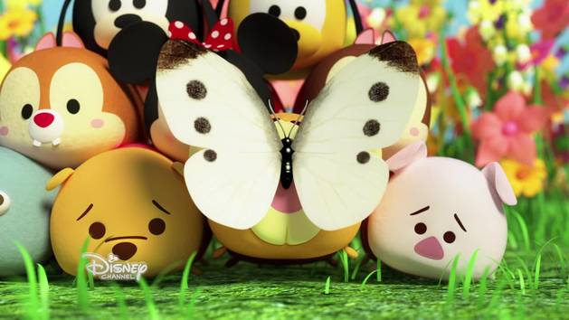 Tsum Tsum Photomania - Chasse aux papillons