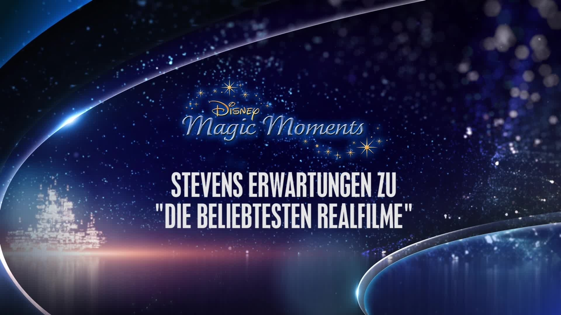 Magic Moments - Stevens Erwartungen zu besten Disney Realfilmen