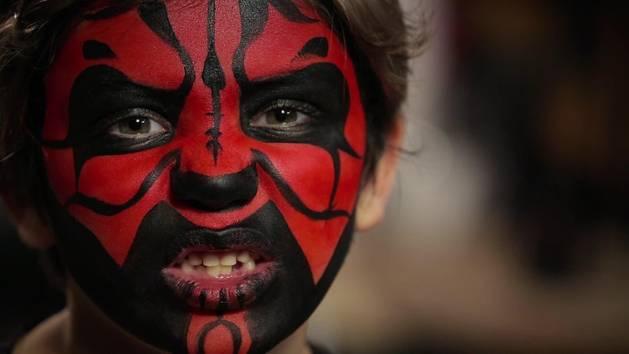 Les Enfants Extraordinaires - Tuto : le maquillage de Dark Maul