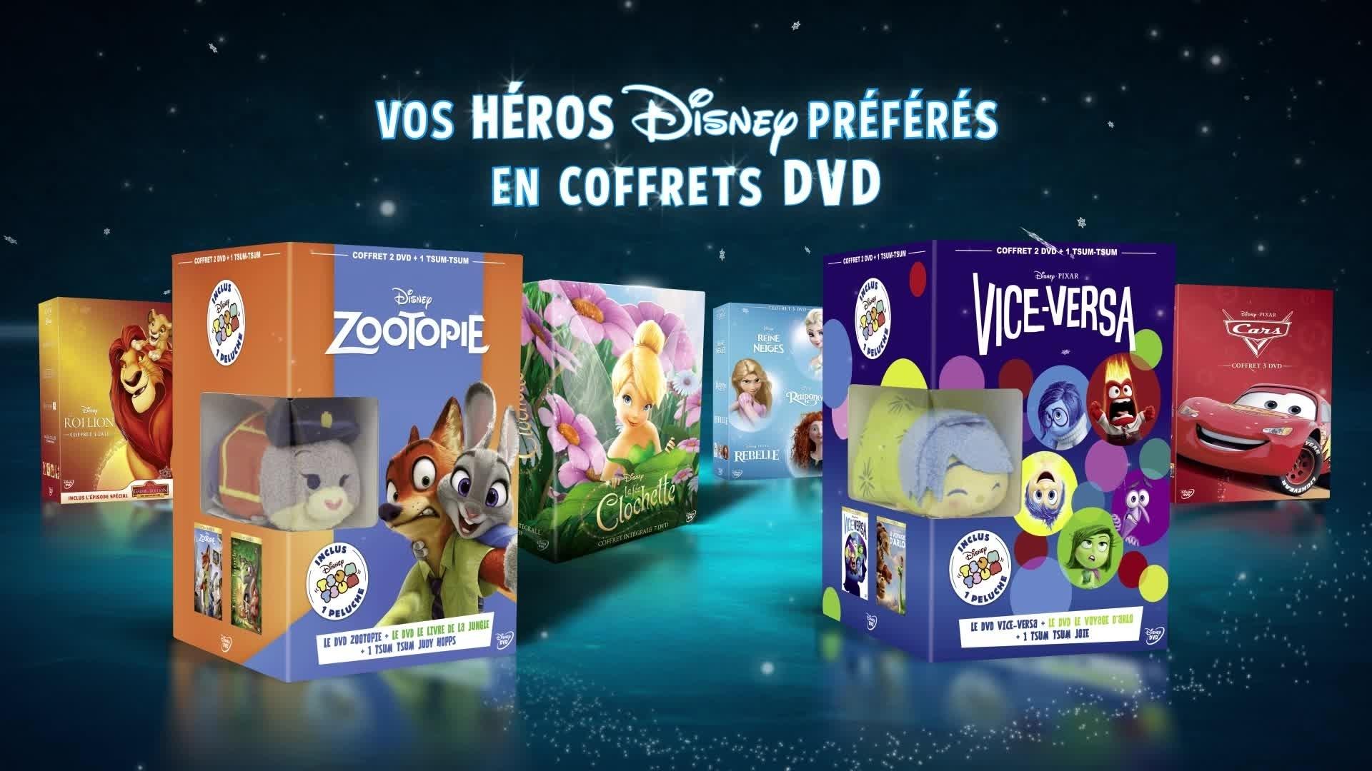 Coffrets DVD avec vos héros préférés