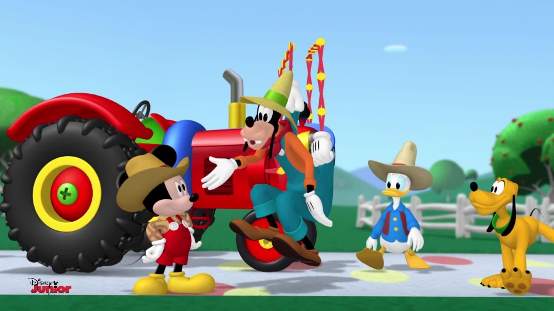 Mickey et Donald ont une ferme