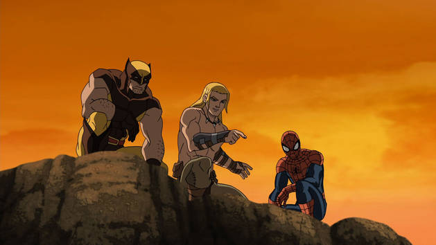Ultimate Spider-Man Web Warriors - Extrait - Ka-Zar et son frère