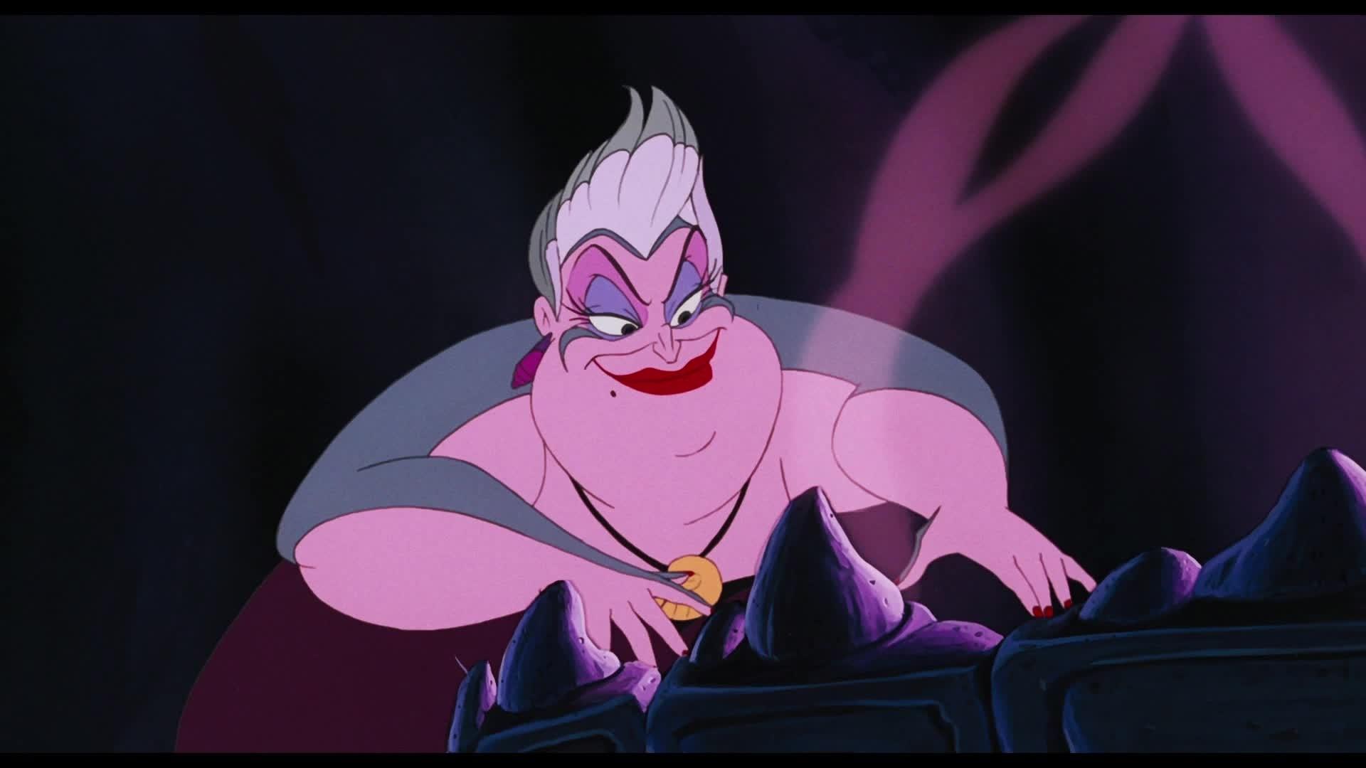 La Petite Sirène - Chanson : Pauvres âmes en perdition (par Ursula)