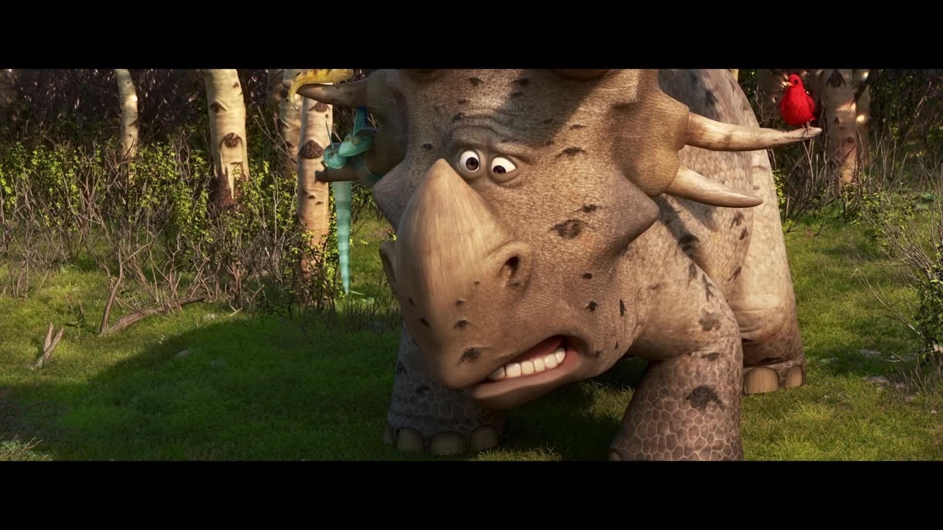 Le Voyage d'Arlo – Vie de Dino : Je trouve, je garde