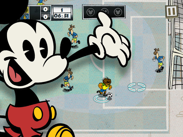 Jeu La Coupe de Mickey