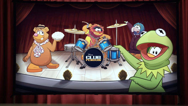 Club Penguin - Muppets Party