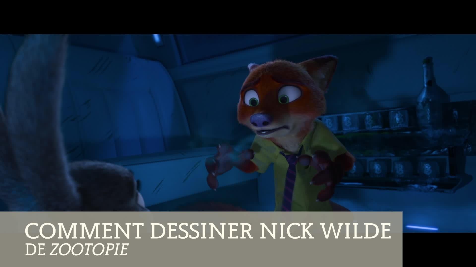Zootopie : apprends à dessiner Nick