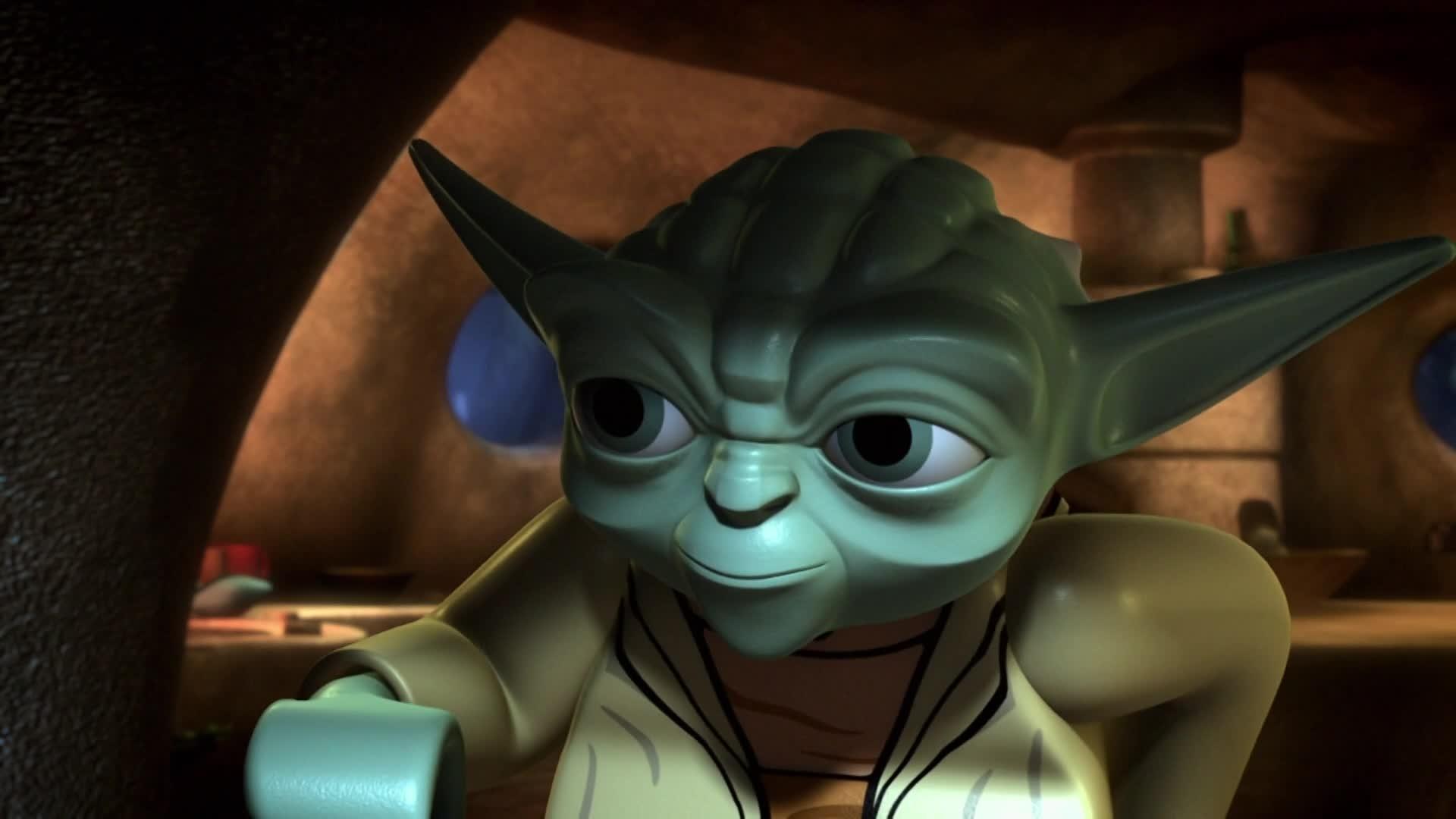 Star Wars : Les Chroniques de Yoda - L'évasion du temple Jedi