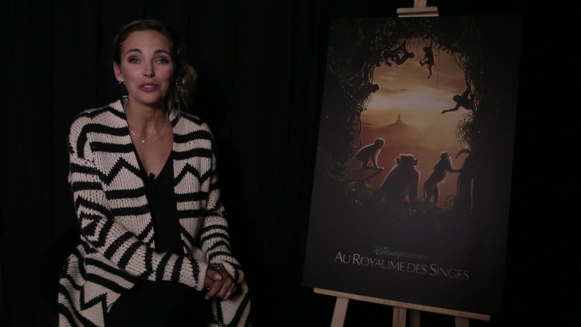 Au Royaume des Singes - Claire Keim sera la narratrice.