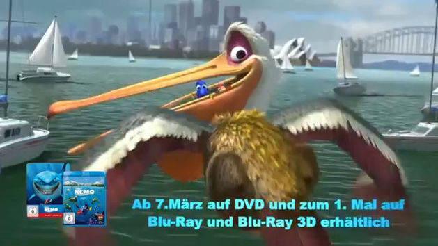 Findet Nemo - Auf Blu-ray, Blu-ray 3D und DVD
