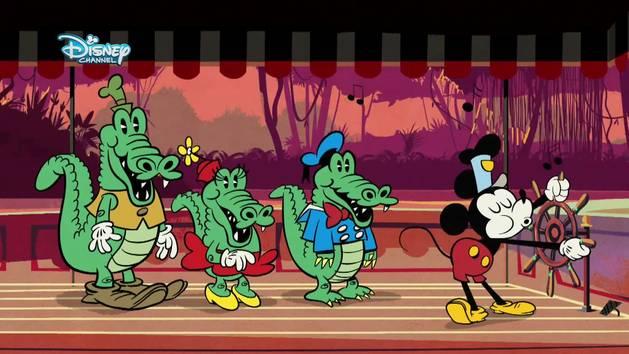 Micky Kurzfilm - Kleider machen Mäuse