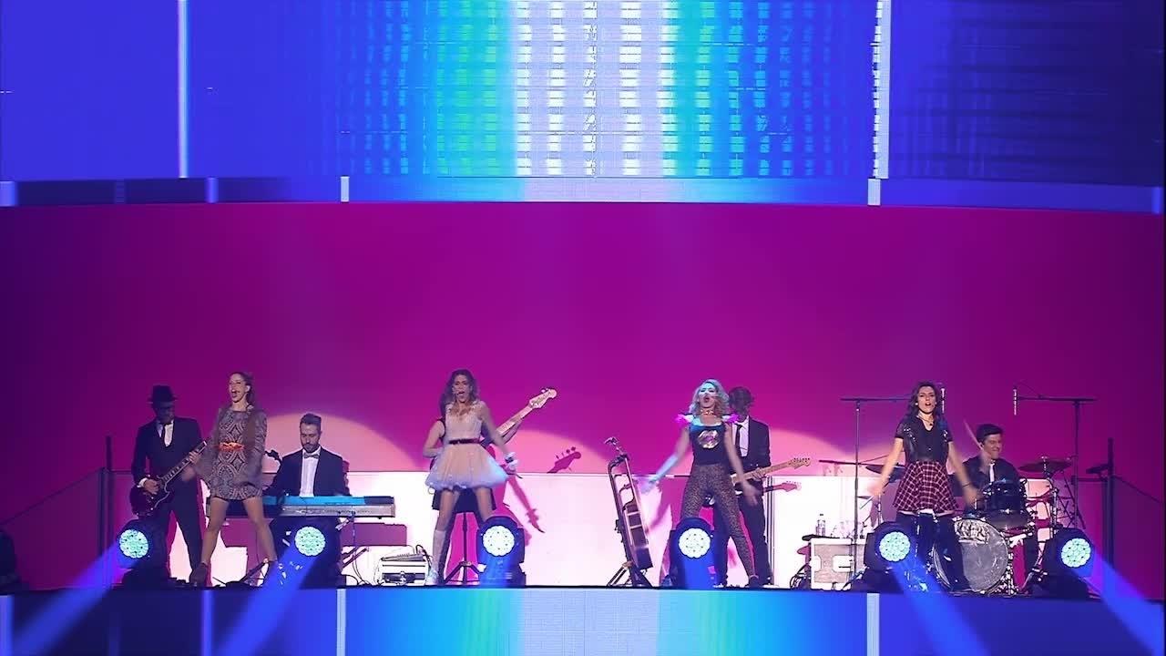 """Violetta Live - Clip """"Alcancemos Las Estrellas"""""""