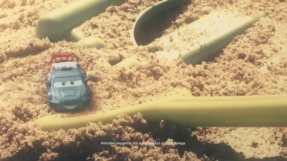 Cars Shorts: Die Cast Autos treten an im Sandkasten