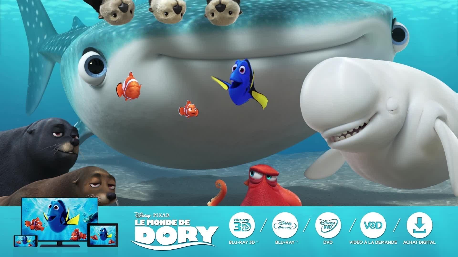Le Monde de Dory avec vous partout