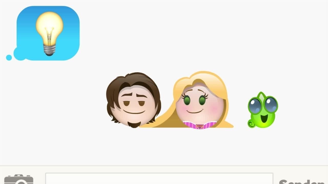 Rapunzel – Emoji-Version