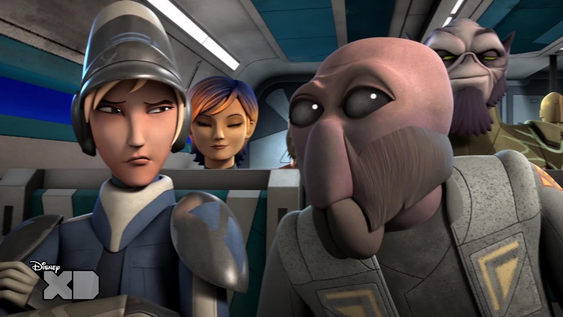 Star Wars Rebels - Saison 1 Épisode 3 - Premières minutes