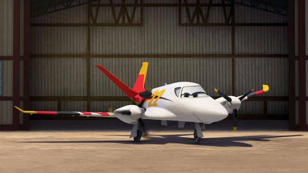 Planes - Hangar Shots: Heidi