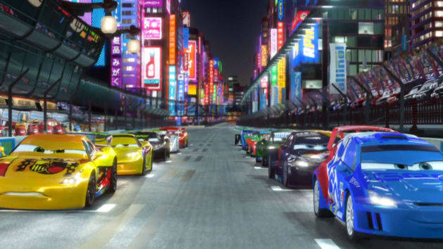 Cars 2 - Rennen in Tokyo