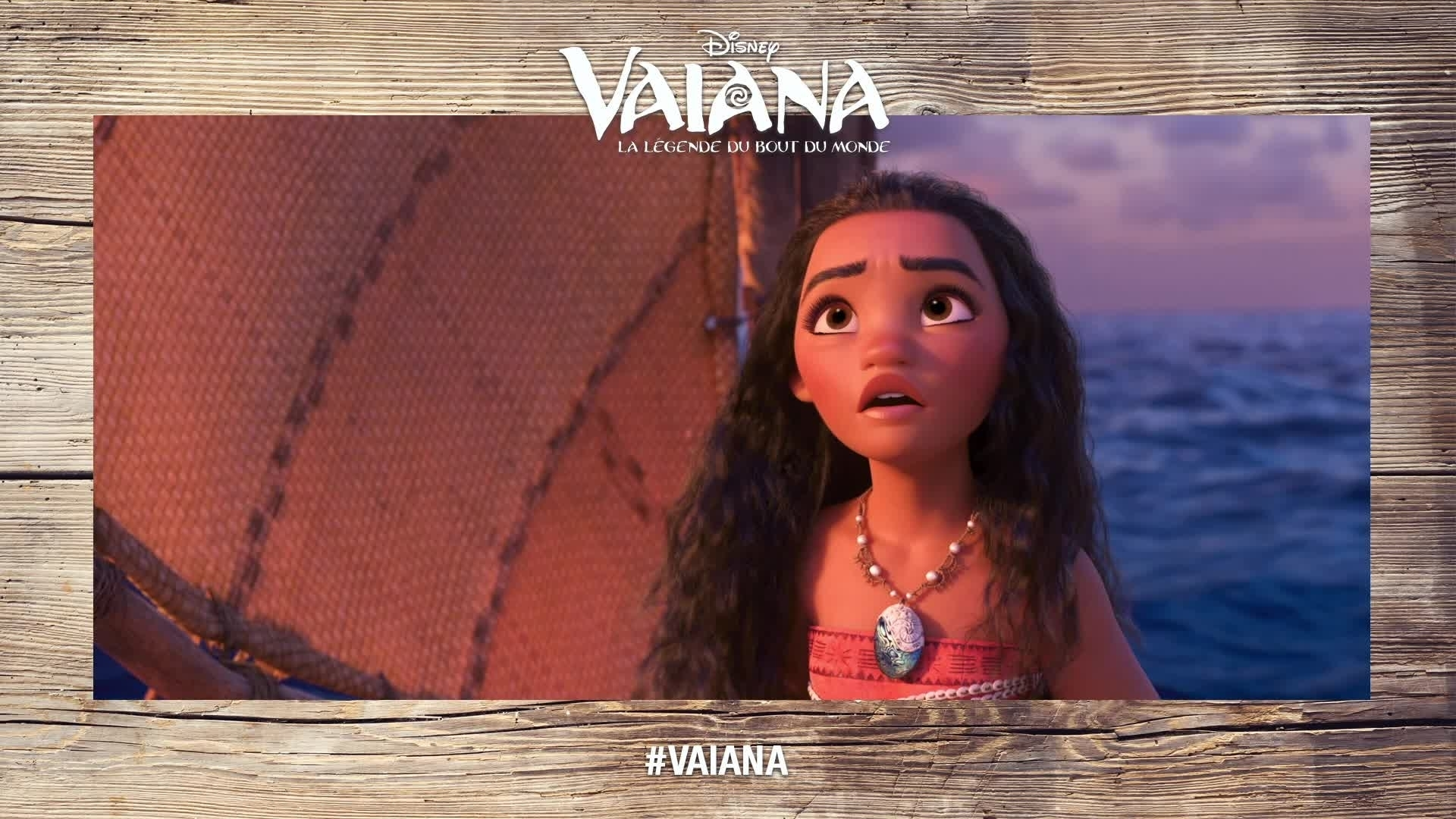 Les voix de Vaiana : l'héroïne