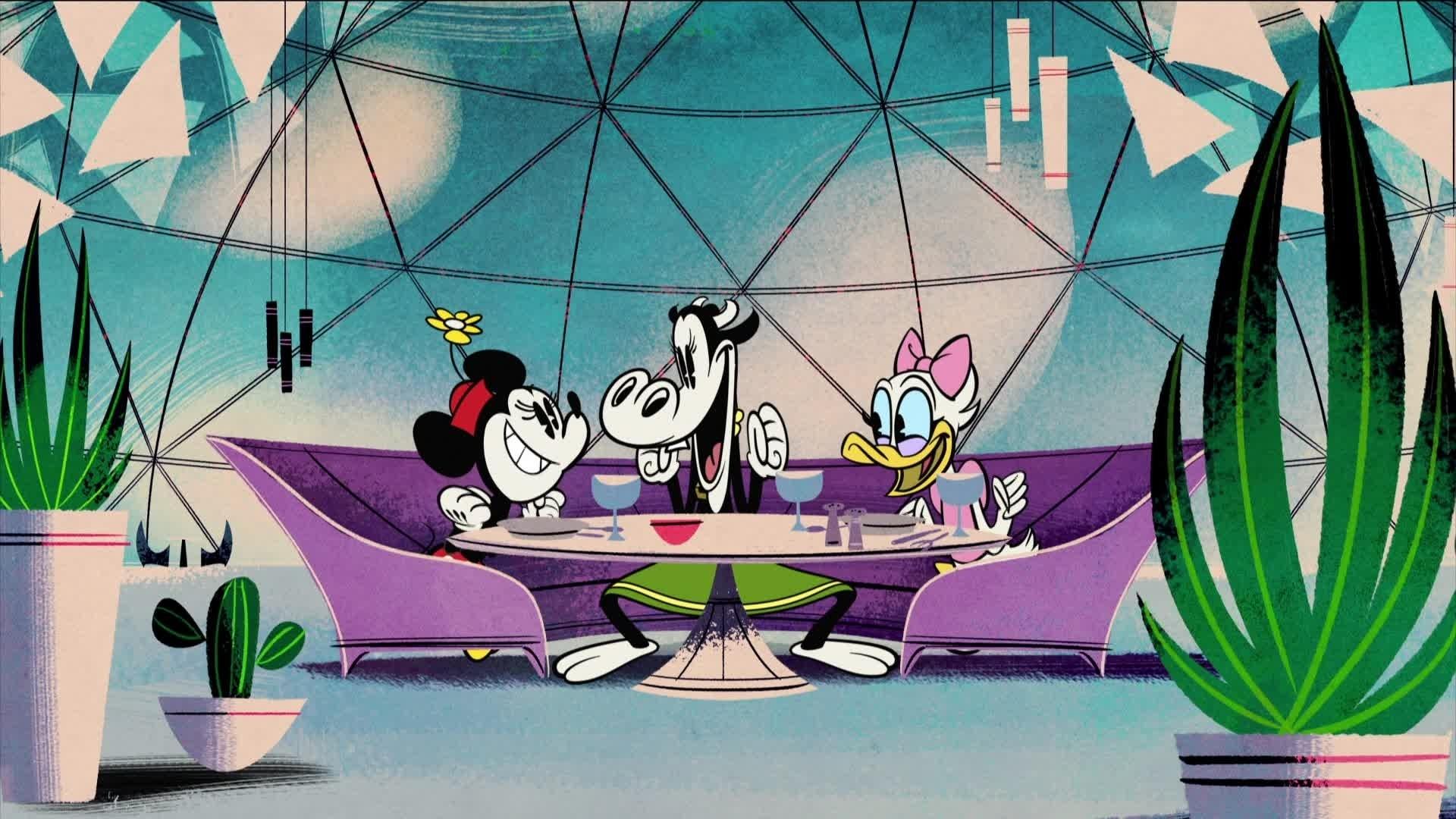 Minnie Mouse - Une table pour trois