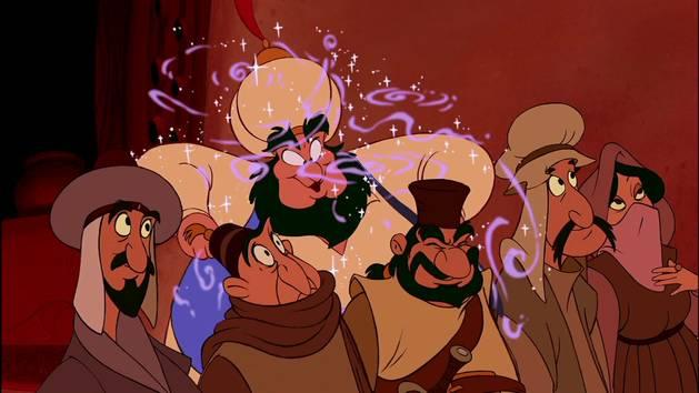 """Aladdin : chanson """"Prince Ali"""""""