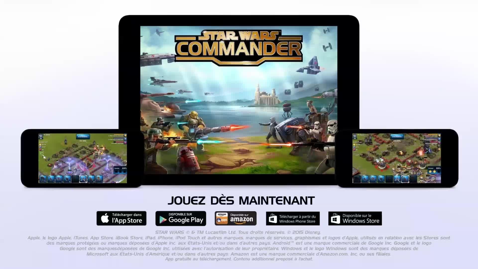 Star Wars : Commander - Bande-annonce