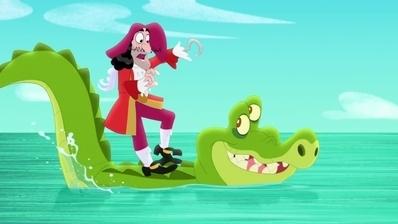Jake und die Nimmerland Piraten - Käpt'n Hook und König Zongo/Jakes frostiger Freund