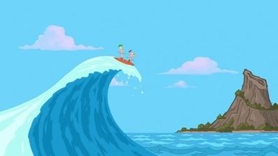 Phineas und Ferb - Ein Schnabeltier auf Abwegen / Gestrandet