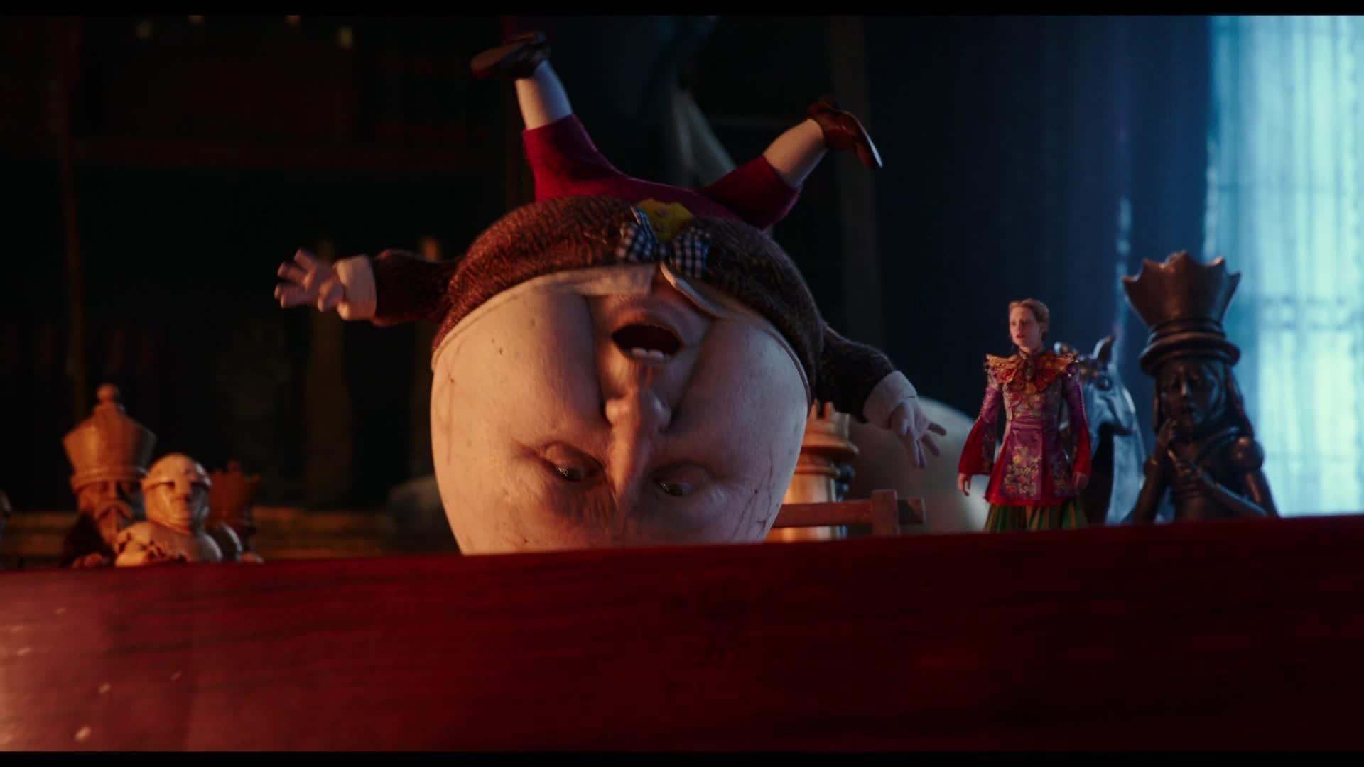 Alice de l'Autre Côté du Miroir - Personnage : Humpty