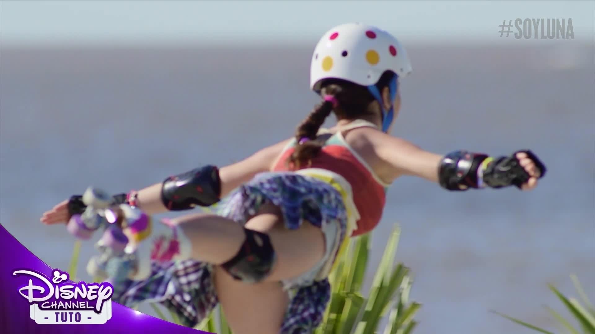 Soy Luna - Tuto Roller - L'équilibre