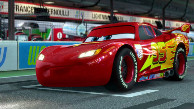 Cars 2 extrait la course de flash mcqueen vid os - Image a colorier cars 2 ...