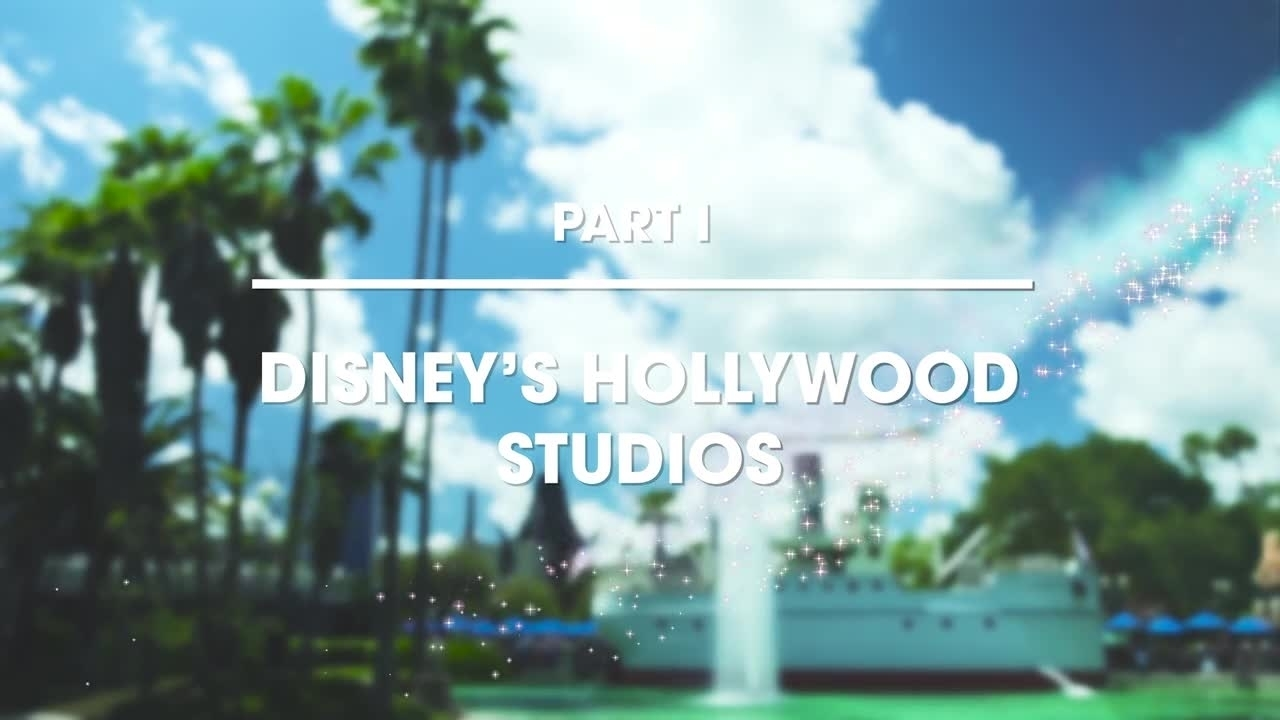 Hollywood Studios - Part 1 - Walt Disney World Resort