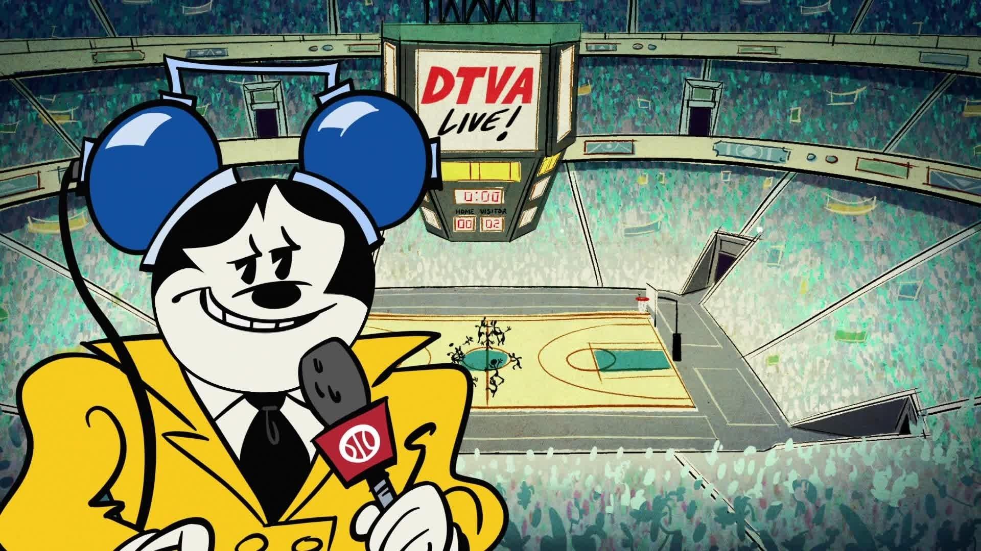 Mickey Mouse - De l'esprit sportif entre athlètes