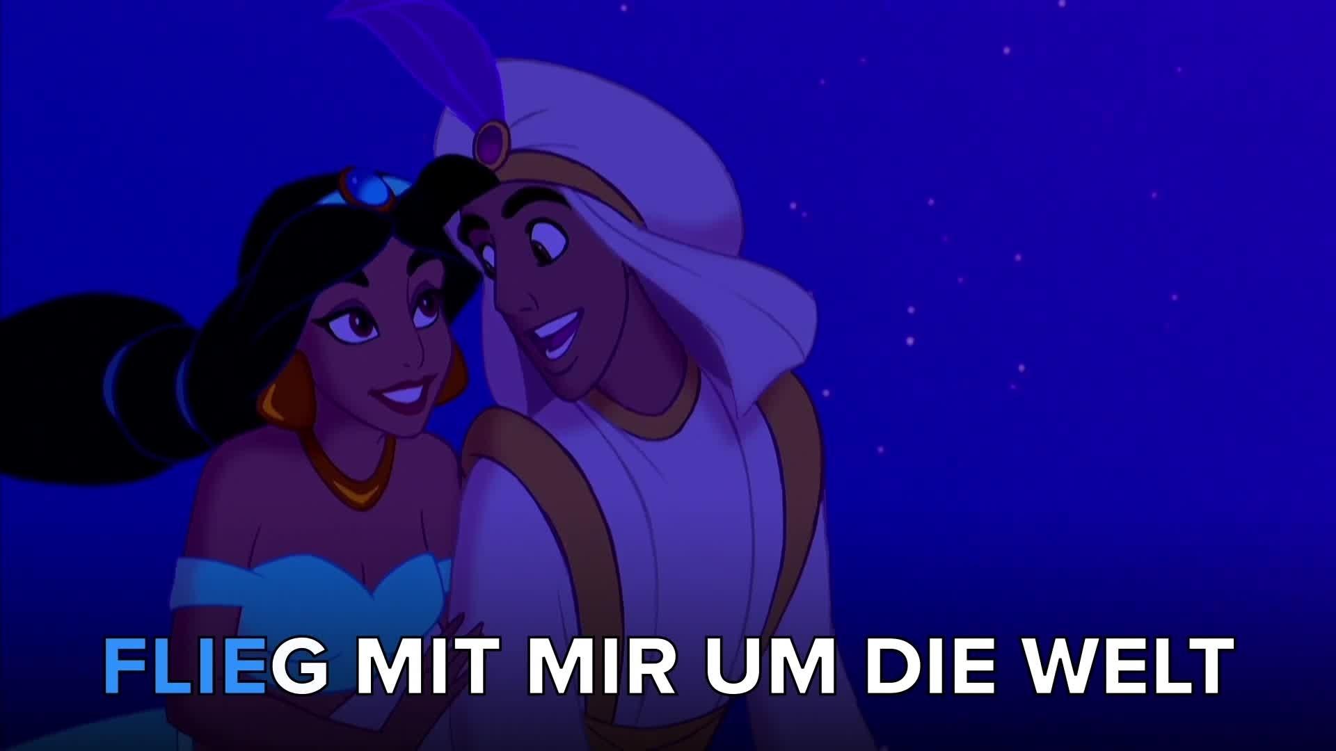 Aladdin 'Ein Traum wird wahr' Karaoke
