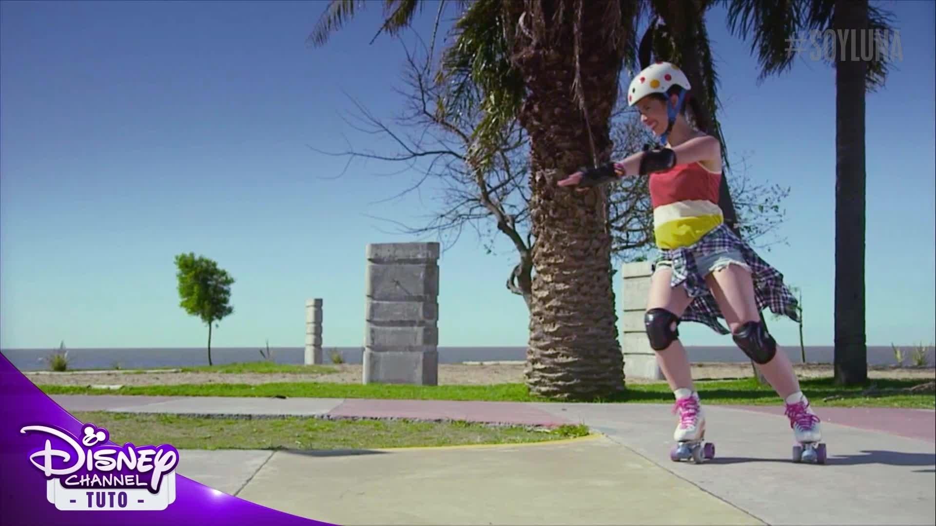 Soy Luna - Tuto Roller - Tourner