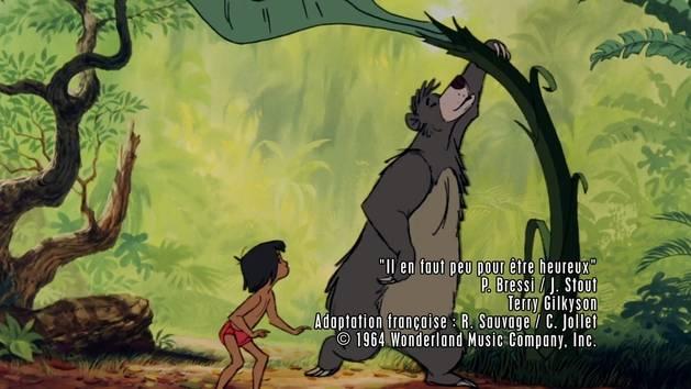 Le Livre de la Jungle - Il en faut peu pour être heureux