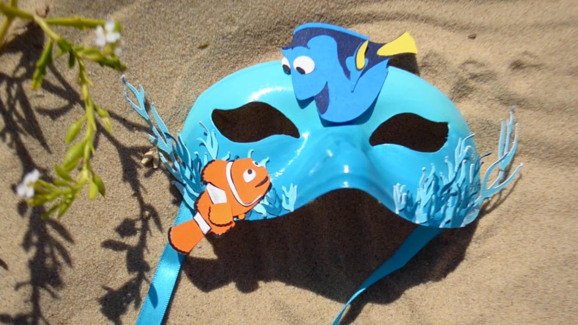 Le masque Nemo et Dory
