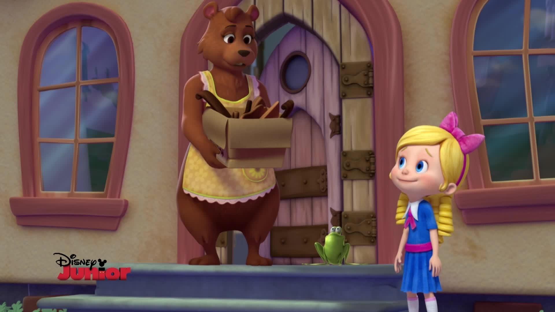 Überraschung für Bär