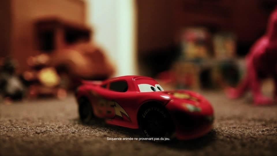 Cars Daredevil Garage - Envahit... La salle de jeu