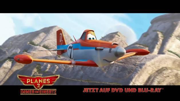 TV-Spot zum DVD-Start von Planes 2