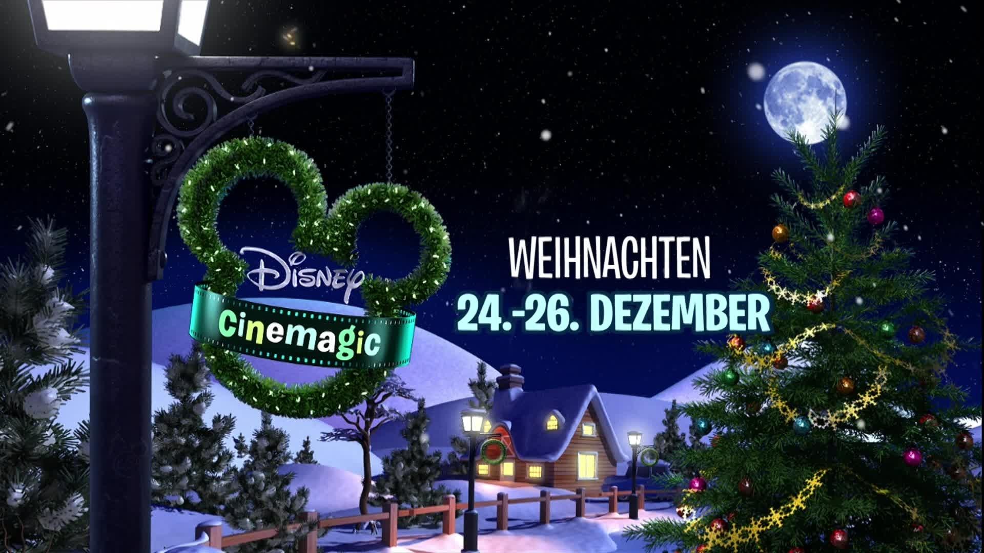 Weihnachten bei Disney Cinemagic