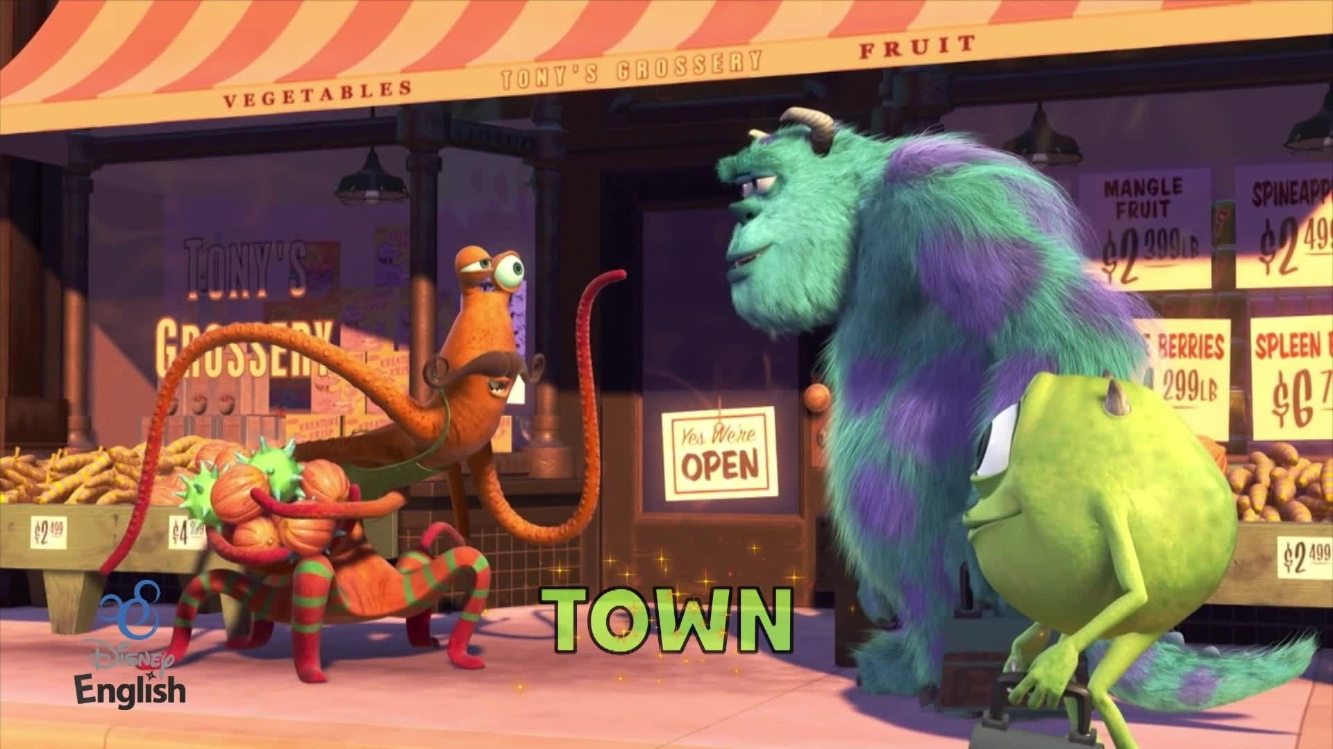 Chansons Disney English - In Your Town