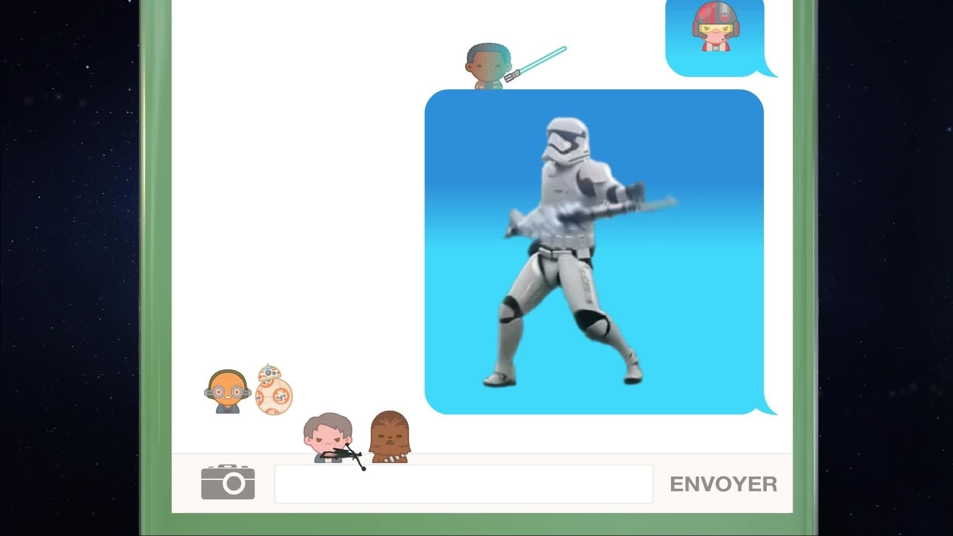 Star Wars – Le Réveil de la Force en emojis