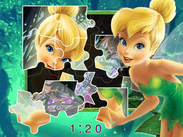 Jeu Puzzle féérique