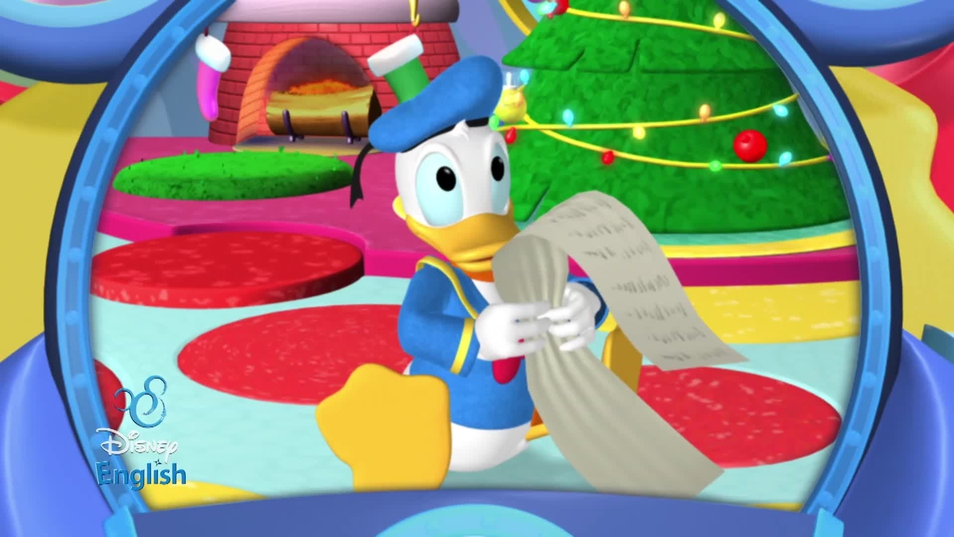 Disney English - La liste de Noël de Donald