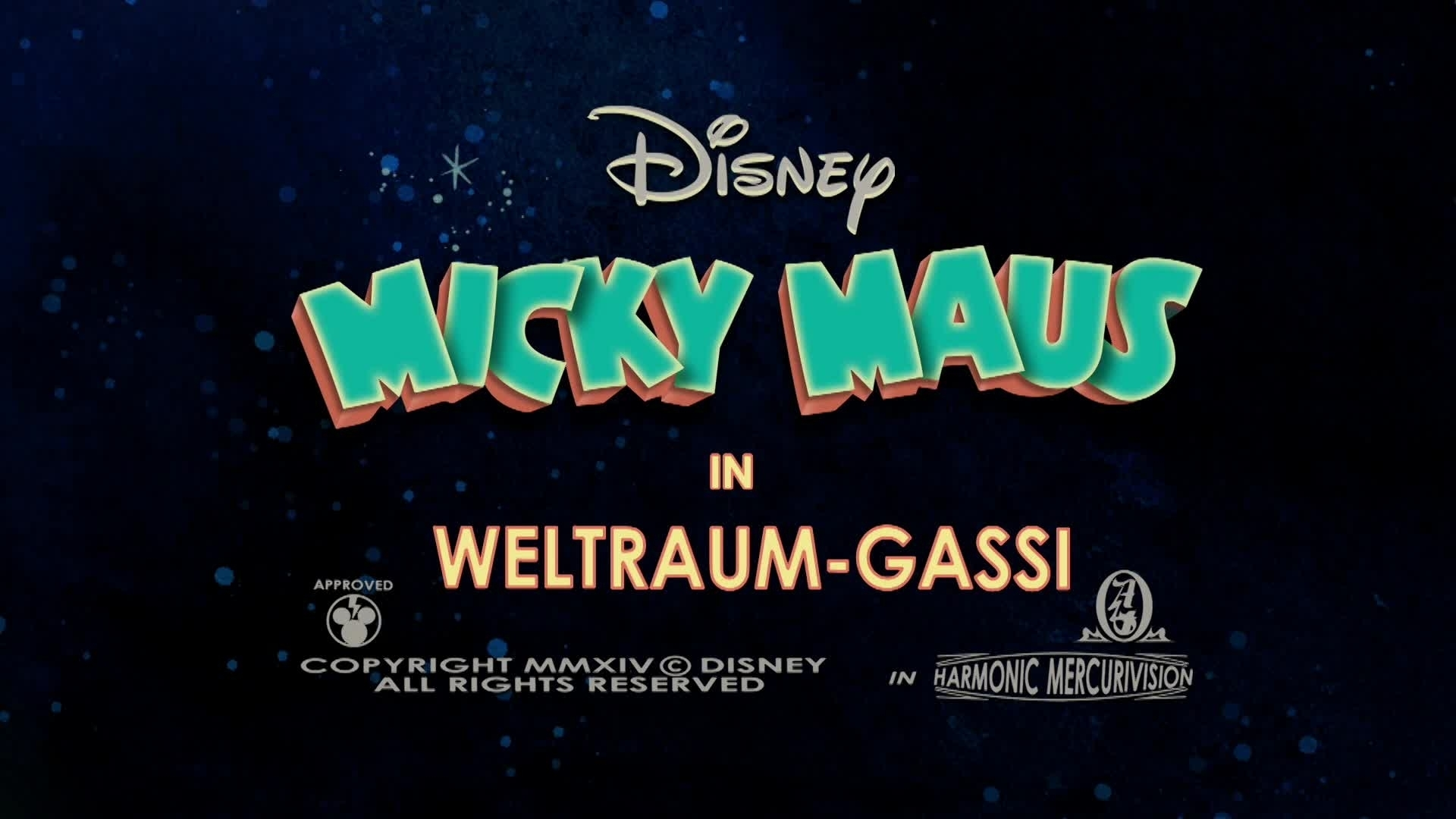 Micky Short: Weltraum Gassi