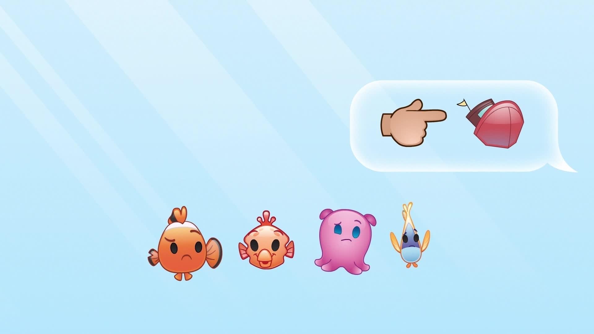 Le Monde de Nemo raconté par des Emojis