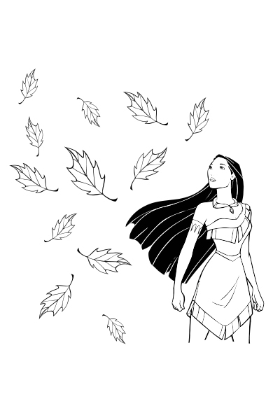 Les feuilles de Pocahontas